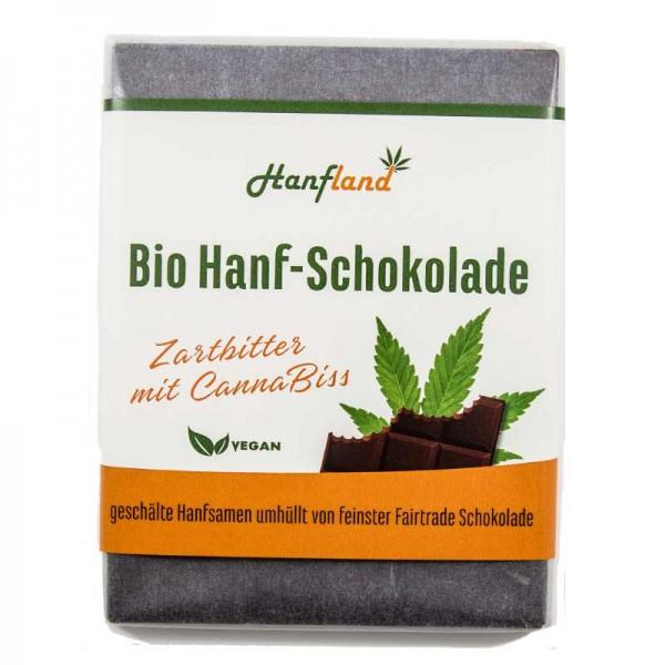 Bio Hanf-Schokolade Zartbitter