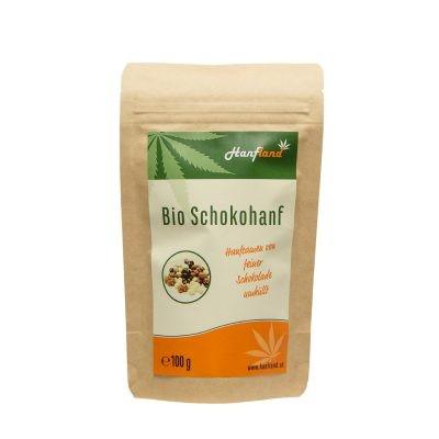 Knabberhanf Bio Schoko, 100 g
