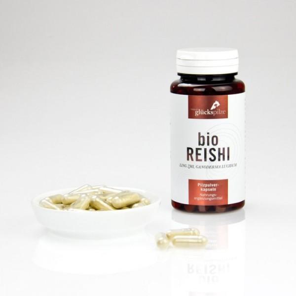 Bio Reishi - Pilzpulverkapseln 120Stk.