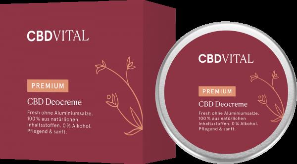 CBD Deodorant - Deocreme 100ml
