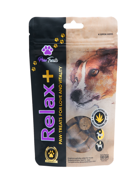 Relax+ CBD Snack 100g - Paw Treats