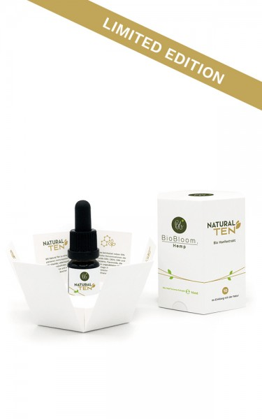 Bio CBD 10% Hanfextrakt – NaturalTEN 10ml