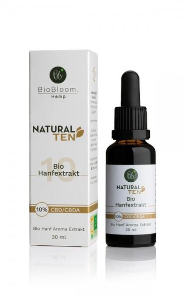 CBD Öl 10% Bio Hanfextrakt – NaturalTEN 30ml