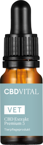 CBD VET 5 Extrakt Premium 10ml