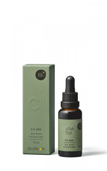 Bio CBD Öl 8% - 30ml