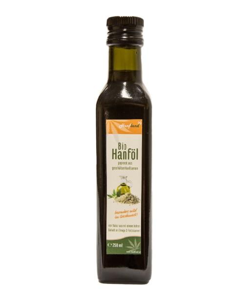 Bio Hanföl 250ml aus geschälten Hanfsamen
