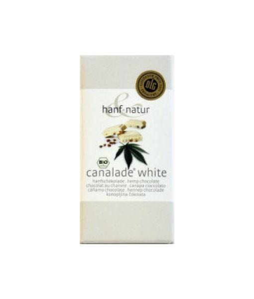 Canalade Bio weiß, 100 g (Hanfschokolade)