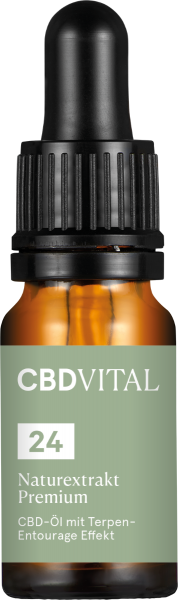 CBD Öl Naturextrakt Premium 24% 10ml