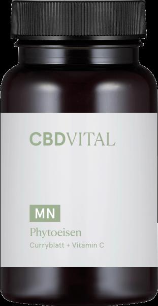 Phytoeisen - Curryblatt + Vitamin C Kapseln 60Stk.
