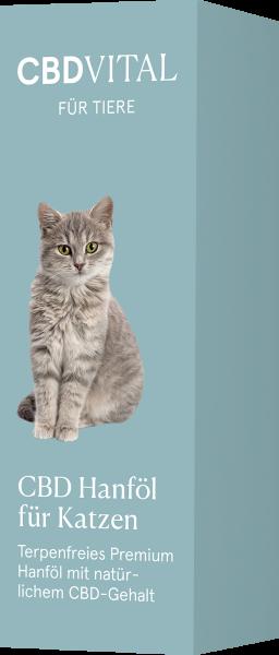 CBD Hanföl für Katzen 2,1% - 20ml