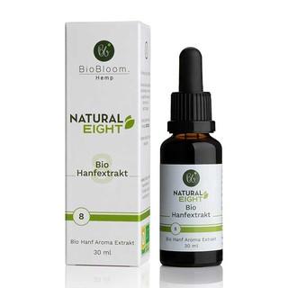 CBD 8% Bio Hanfextrakt – NaturalEIGHT 30ml