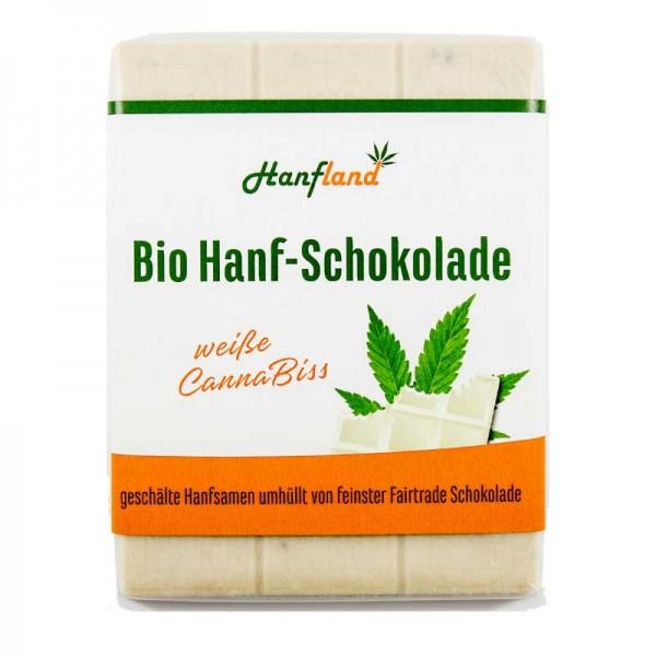Bio Hanf-Schokolade weiß