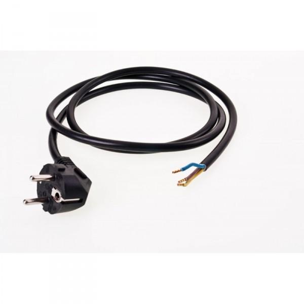 Netzkabel mit Stecker für Systemair und Silent Ventilatoren
