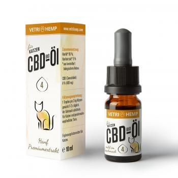 CBD-Öl 4% für Katzen, 10ml