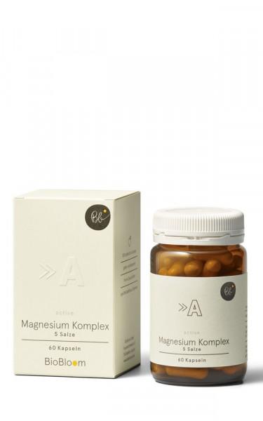 Magnesium Komplex 5 Salze – Active 60Stk. Kapseln