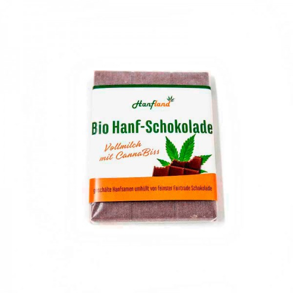 Bio Hanf - Schokolade Vollmilch