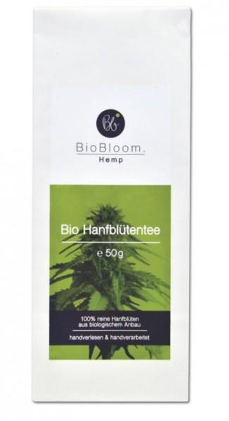 Bio Hanfblütentee Teesackerl 50g