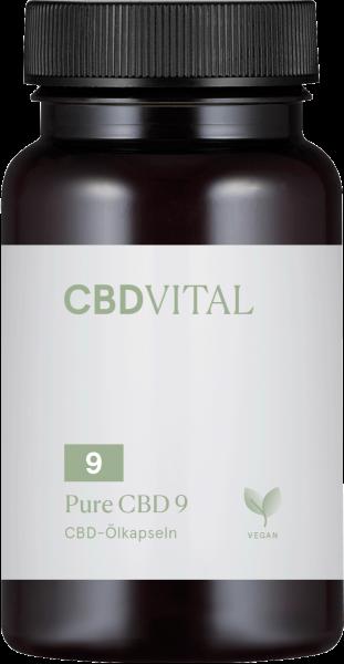Pure CBD 9 (5%) Kapseln 60Stk.