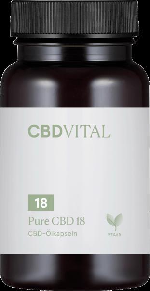 Pure CBD 18 (10%) - Kapseln 60Stk.