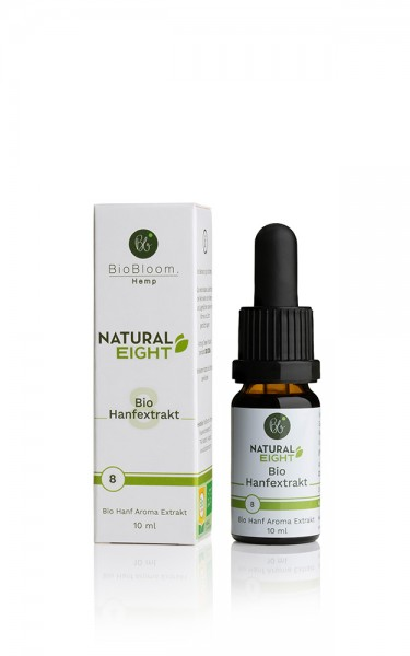 CBD 8% Bio Hanfextrakt – NaturalEIGHT 10ml