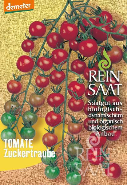 Bio Tomate Zuckertraube Saatgut 30stk.