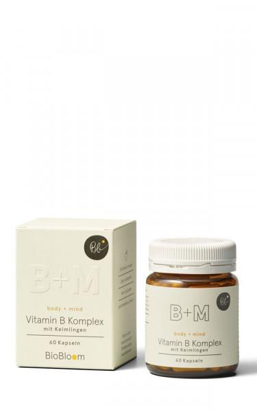 Vitamin B Komplex – Body + Mind 60Stk. Kapseln