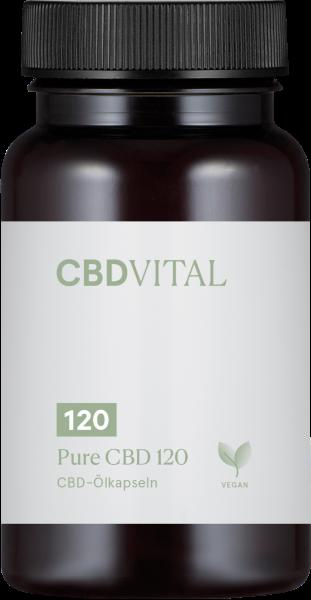 Pure CBD 120 (36%) - Kapseln 30Stk.