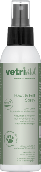 Haut und Fell Spray 150ml - Heilwasser
